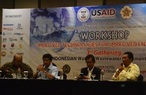 Para peneliti sedang memaparkan hasil penelitian pada workshop pengembangan teknologi di Yogyakarta, Rabu (5/10/2016). (foto : istimewa)
