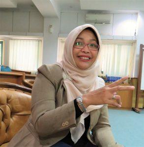 Fitri Nugraheni PhD, dosen FTSP UII Yogyakarta, Sabtu (3/12/2016). (foto : heri purwata)